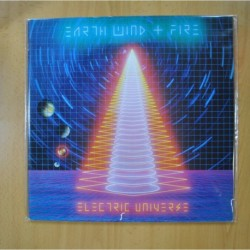 EARTH WIND FIRE - ELECTRIC UNIVERSE - GATEFOLD - LP