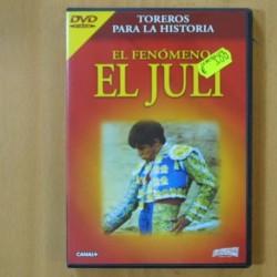EL FENOMENO EL JULI - DVD