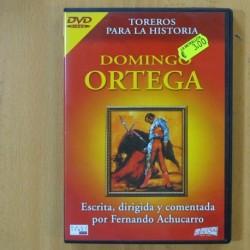 TOREROS PARA LA HISTORIA - DOMINGO ORTEGA - DVD