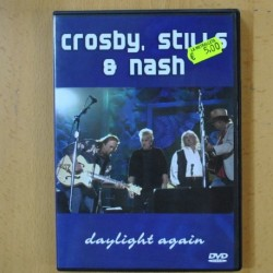 CROSBY, STILL & NASH - DAYLIGHT AGAIN - DVD
