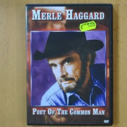MERLE HAGGARD - POET OF THE COMMON MAN - DVD