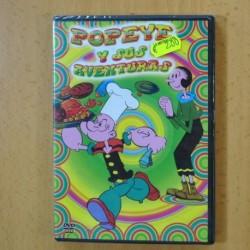 POPEYE Y SUS AVENTURAS - DVD