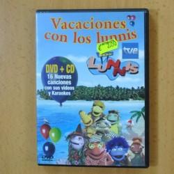 LOS LUNNIS - VACACIONES CON LOS LUNNIS - CD / DVD