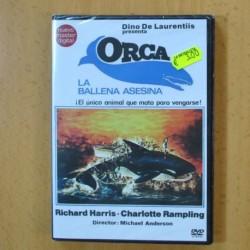 ORCA, LA BALLENA ASESINA - DVD