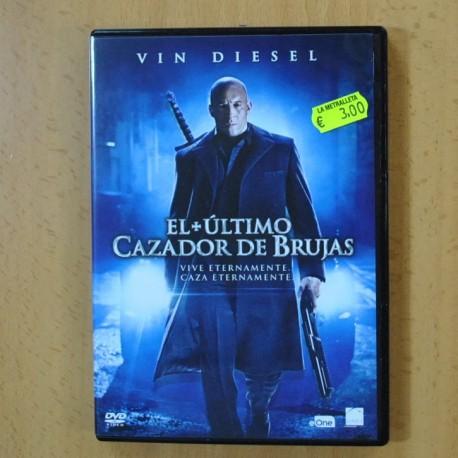 EL ULTIMO CAZADOR DE BRUJAS - DVD