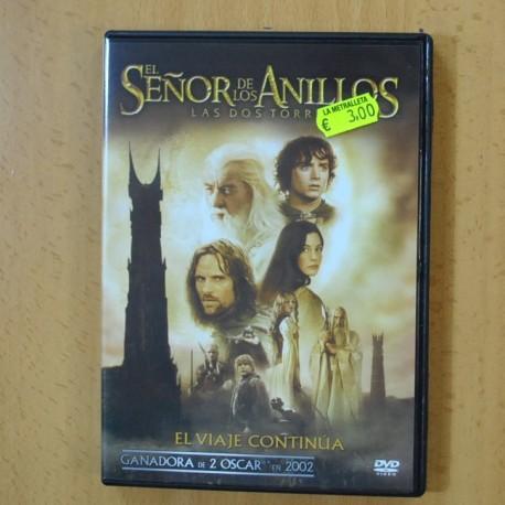 LAS DOS TORRES - EL SEÑOR DE LOS ANILLOS - DVD