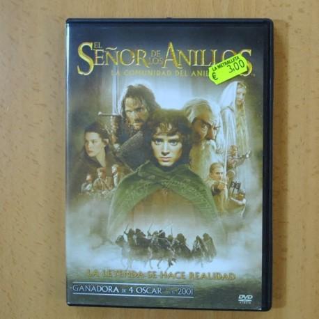 LA COMUNIDAD DEL ANILLO - EL SEÑOR DE LOS ANILLOS - DVD