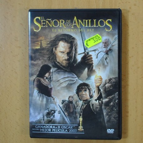 EL RETORNO DEL REY - EL SEÑOR DE LOS ANILLOS - DVD
