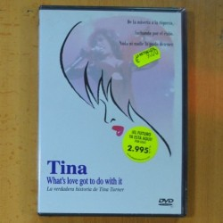 TINA WHAT´S LOVE GOT TO DO WITH IT - DVD