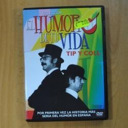 TIP Y COLL - EL HUMOR DE TU VIDA - DVD