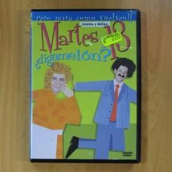 MARTES Y 13 - DIGAMELON - DVD