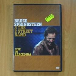 BRUCE SPRINGSTEEN & THE E STREET BAND - LIVE IN BARCELONA - DVD