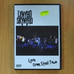 LYNYRD SKYNYRD - LIVE FROM STEEL TOWN - DVD