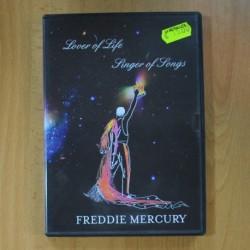 FREDDIE MERCURY - LOVER OF LIFE SINGER OF SONGS - DVD