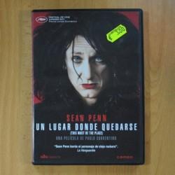 UN LUGAR DONDE QUEDARSE - DVD