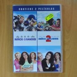 NIÑOS GRANDES / NIÑOS GRANDES 2 - DVD