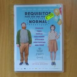 REQUISITOS PARA SER UNA PERSONA NORMAL - DVD