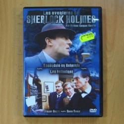 LAS AVENTURAS DE SHERLOCK HOLMES - ESCANDALO EN BOHEMIA / LOS BAILARINES - DVD