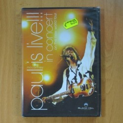 PAUL MCCARTNEY - IS LIVE IN CONCERT ON THE NEW WORLD TOUR - DVD