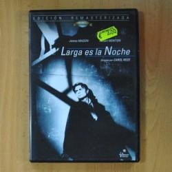 LARGA ES LA NOCHE - DVD