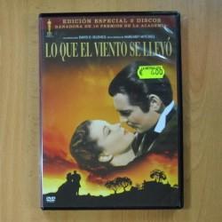 LO QUE EL VIENTO SE LLEVO - DVD