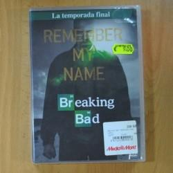 BREAKING BAD TEMPORADA FINAL - DVD