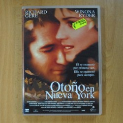 OTOÑO EN NUEVA YORK - DVD