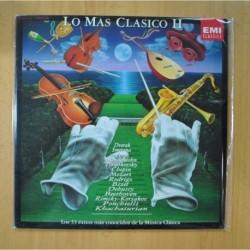 VARIOS - LO MAS CLASICO II - 2 LP