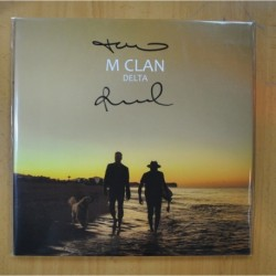 M CLAN - DELTA - FIRMADO - NO CD - GATEFOLD - 2 LP