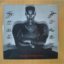 GRACE JONES - WARM LEATHERETTE - LP