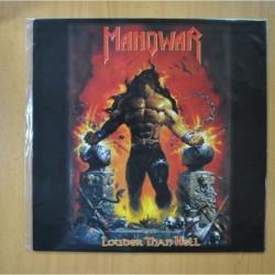MANOWAR - LOUDER THAN HELL - LP