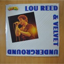 LOU REED & VELVET UNDERGROUND - LOU REED & VELVET UNDERGROUND - GATEFOLD - LP