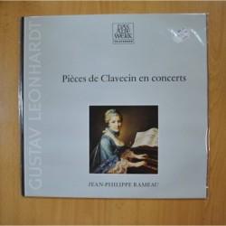 JEAN PHILIPPE RAMEAU - PIECES DE CLAVECIN EN CONCERTS - LP