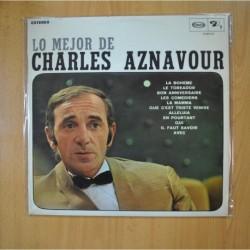 CHARLES AZNAVOUR - LO MEJOR DE - LP