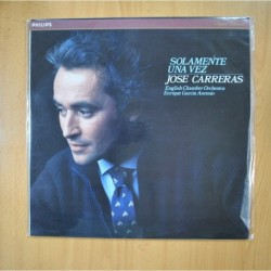 JOSE CARRERAS - SOLAMENTE UNA VEZ - LP