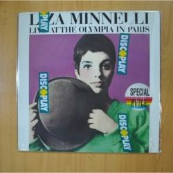 LIZA MINNELLI - LIVE AT THE OLYMPIA IN PARIS - LP