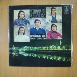 AMIGOS DE GINES - SEVILLANAS DEL BUEN RECUERDO - LP