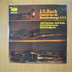 J. S. BACH - CONCIERTOS DE BRANDEMBURGO 2 3 5 - LP