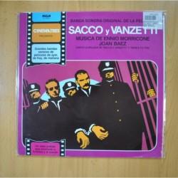 ENNIO MORRICONE / JOAN BAEZ - SACCO Y VANZETTI - LP