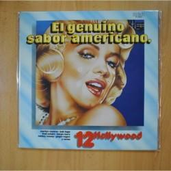 VARIOS - EL GENUINO SABOR AMERICANO - GATEFOLD - LP