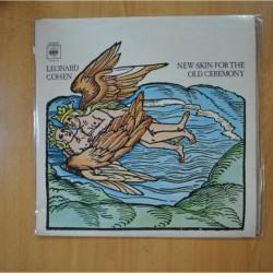 LEONARD COHEN - NEW SKIN FOR THE OLD CEREMONY - LP