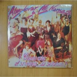 ALMODOVAR & MCNAMARA - COMO ESTA EL SERVICIO DE SEÑORAS - VINILO ROSA - LP + 2 CD + DVD
