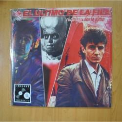 EL ULTIMO DE LA FILA - ENEMIGOS DE LO AJENO - LP + CD