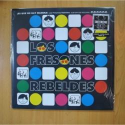LOS FRESONES REBELDES - ES QUE NO HAY MANERA - VINILO AMARILLO - LP