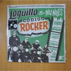 LOQUILLO & NU NILES - CODIGO ROCKER - LP + CD