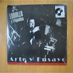 LOQUILLO Y LOS TROGLODITAS - ARTE Y ENSAYO - LP + CD