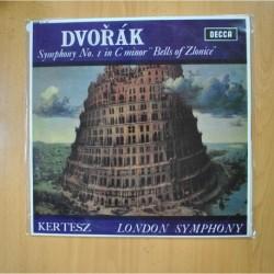 DVORAK / KERTESZ - SYMPHONY NO 1 IN C MINOR BELLS OF ZLONICE - LP