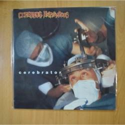 CEREBROS EXPRIMIDOS - CEREBRATOR - VINILO AZUL - LP