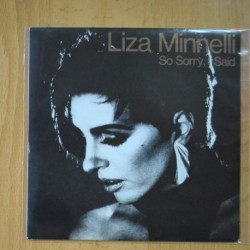 LIZZA MINELLI - SO SORRY I SAID - SINGLE