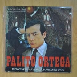 PALITO ORTEGA - BIENVENIDA NAVIDAD / CHANGITO DIOS - SINGLE